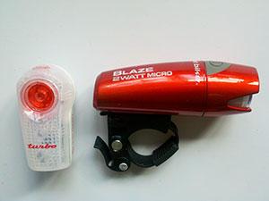 Planet Bike Blaze 2 watt Micro and Superflash