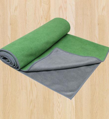 Gaiam Dual-Grip Yoga Towel
