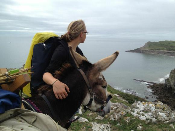 women's adventure donkey Wales