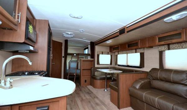 Travel Trailer - Dutchmen Aerolite - Bunkhouse Interior